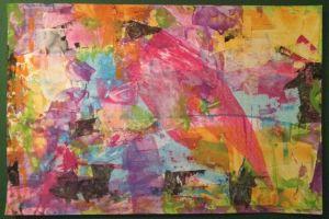 Journal Background Parrot-like ©Wendy Journalista