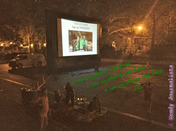 """Finding Nemo"" at Carl Schurz Park on July 29, 2013, ©WendyJournalista"